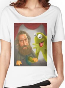 Jim Henson caricature Women's Relaxed Fit T-Shirt