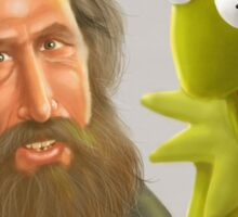 Jim Henson caricature Sticker