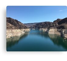 Hoover Dam/ Lake Mead Canvas Print