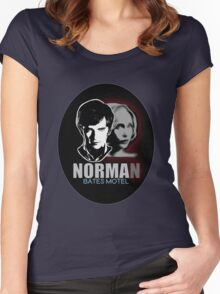 Norma-Norman 2 Bates Motel Women's Fitted Scoop T-Shirt