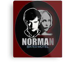 Norma-Norman 2 Bates Motel Metal Print