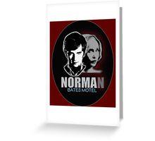 Norma-Norman 2 Bates Motel Greeting Card
