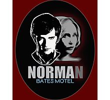 Norma-Norman 2 Bates Motel Photographic Print