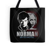 Norma-Norman 2 Bates Motel Tote Bag