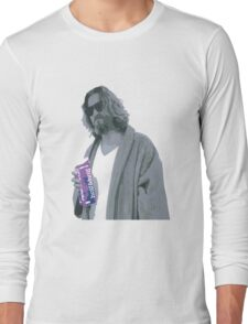 69 cent.  Jeffrey Lebowski shopping for Half & Half Long Sleeve T-Shirt