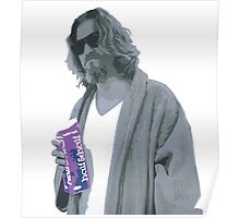 69 cent.  Jeffrey Lebowski shopping for Half & Half Poster