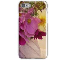 Garden Fresh Bouquet iPhone Case/Skin
