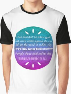 Percy Jackson Prophecy Graphic T-Shirt