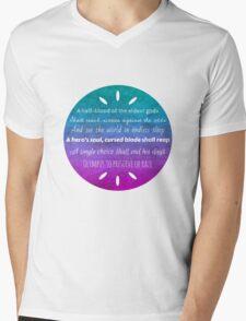 Percy Jackson Prophecy Mens V-Neck T-Shirt