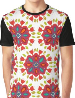FLOR XL white Graphic T-Shirt
