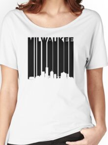 Retro Milwaukee Cityscape Women's Relaxed Fit T-Shirt