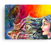 Bohemian Fire Canvas Print