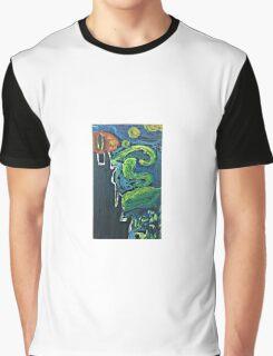 Eye of Sauron meets Van Gogh Graphic T-Shirt
