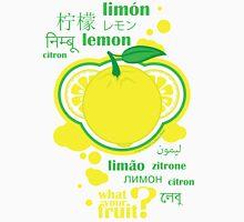 FruitHeads - lemon Unisex T-Shirt