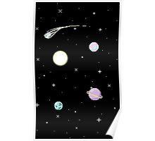 Pixel Space Poster