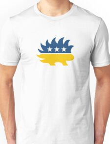 Libertarian Party Porcupine - Yellow Unisex T-Shirt
