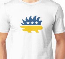 Libertarian Party Porcupine - Yellow Unisex T-Shirt