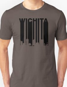Retro Wichita Cityscape Unisex T-Shirt