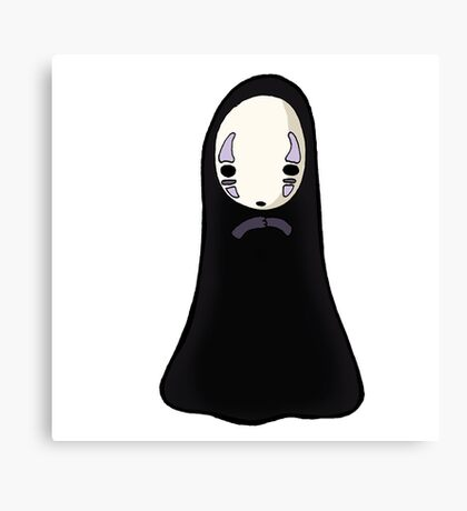 No-face Canvas Print
