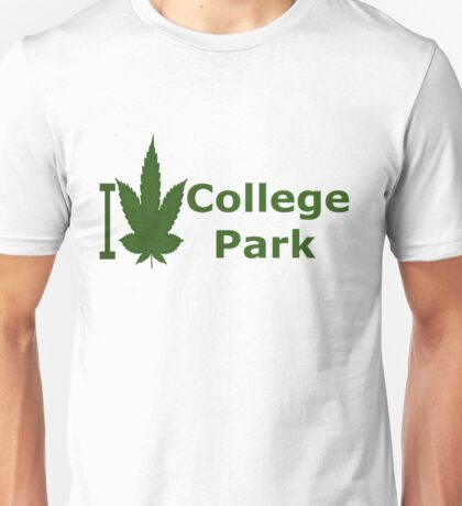 I Love College Park Unisex T-Shirt