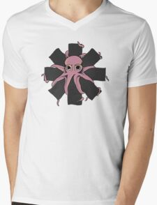 Red Hot Chili Peppers - Positive Mental Octopus Mens V-Neck T-Shirt