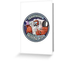 Mtmte Swerve, save water drink high  Greeting Card
