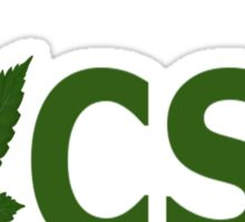 I Love CSU Sticker