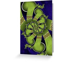 Inner Child - Dancing Green Legs Greeting Card