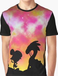 Wander Over Yonder - Sunset Graphic T-Shirt