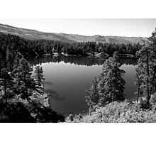 Shalona Lake Study 1  Photographic Print