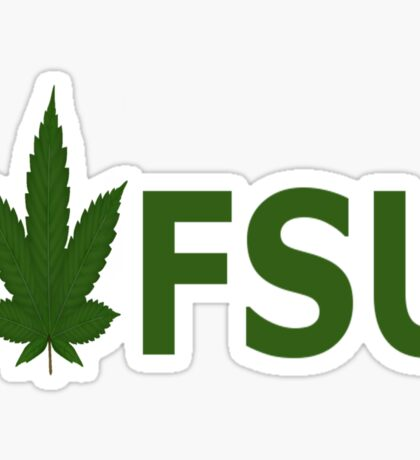 I Love FSU Sticker