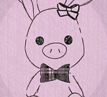 Pig Rabbit (You're Beautiful)  by redstardragon47