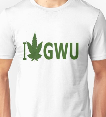 I Love GWU Unisex T-Shirt