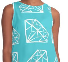 Shine Bright Blue Contrast Tank