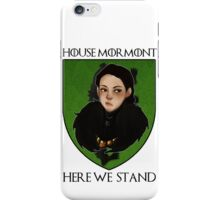 Lady Lyanna of the House Mormont iPhone Case/Skin