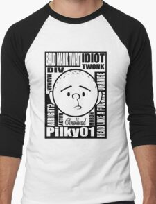 Pilky01 Men's Baseball ¾ T-Shirt
