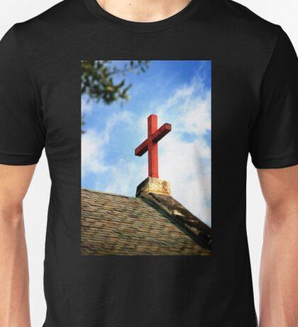 Cross Church Roof Unisex T-Shirt