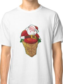 Santa Claus on the Roof Classic T-Shirt