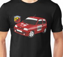 Fiat Cinquecento Abarth red Unisex T-Shirt