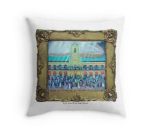 25 de mayo de 1810 III , por Diego Manuel Throw Pillow