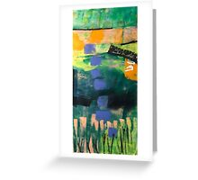 Marsh Blooms Greeting Card