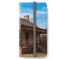 Grafton Ghost Town Home - Utah iPhone Wallet/Case/Skin