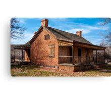Grafton Ghost Town Home - Utah Canvas Print