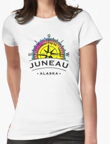 Juneau City Womens Fitted T-Shirt
