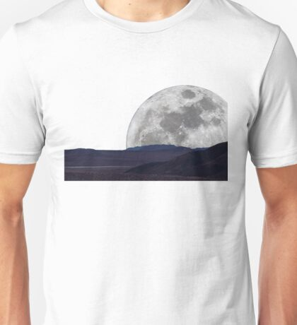Moon over 29 Palms Unisex T-Shirt