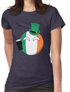 Ireland Ball Womens Fitted T-Shirt