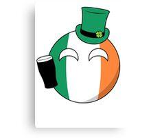 Ireland Ball Canvas Print