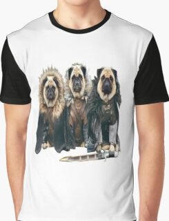 Game of Thrones - Pugs Graphic T-Shirt