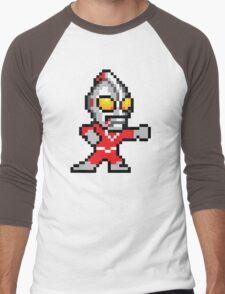 Mega Ultraman Men's Baseball ¾ T-Shirt