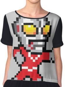 Mega Ultraman Women's Chiffon Top